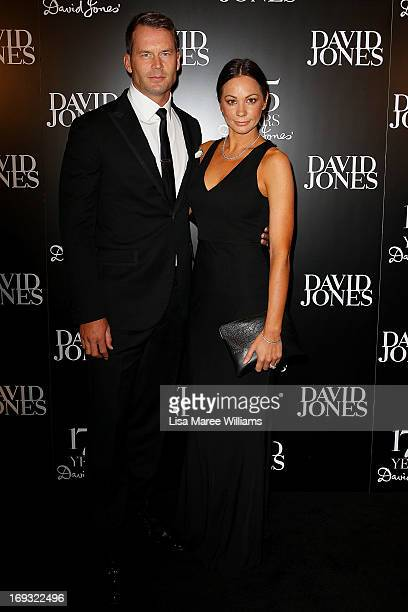 Tom Williams and Rachel Gilbert attend the David Jones 175 year celebration at David Jones on May 23 2013 in Sydney Australia