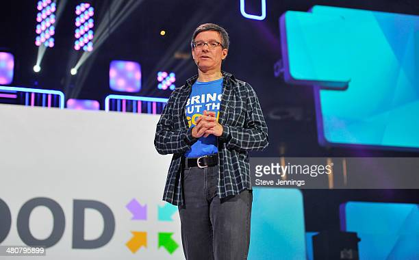 Tom Wilson in Oakland CA speaks about youth empowerment to 16000 students and educators at the first We Day California at ORACLE Arena on March 26...