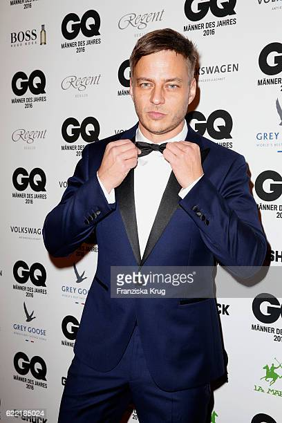 Tom Wlaschiha arrive at the GQ Men of the year Award 2016 at Komische Oper on November 10 2016 in Berlin Germany