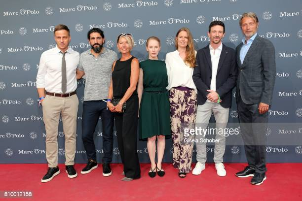 Tom Wlaschiha Numan Acar Hanne Jacobsen Susanne Wuest Katrin Berben Oliver Berben and Mads Mikkelsen during the 50th anniversary celebration of Marc...