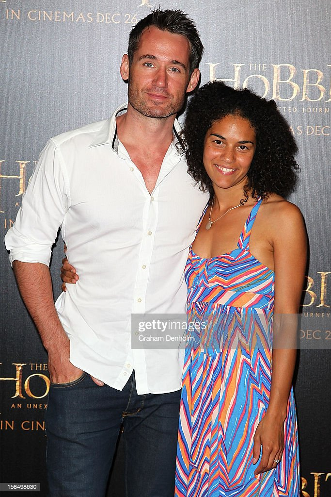 Tom Wren and Susan Salmon attend the Melbourne premiere of 'The Hobbit: An Unexpected Journey' at Village Cinemas on December 18, 2012 in Melbourne, Australia.