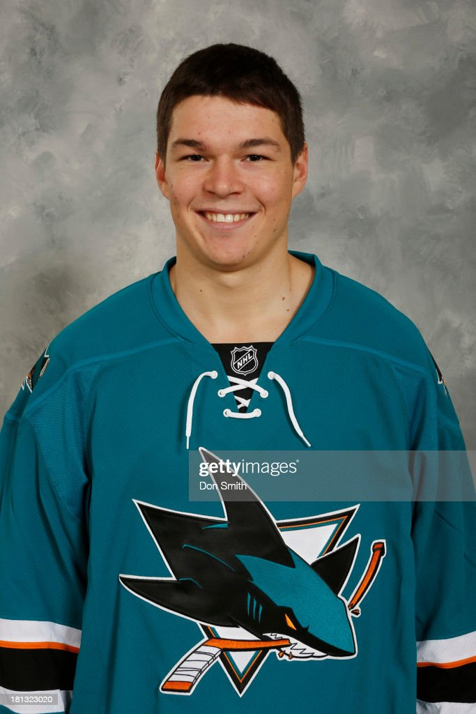<a gi-track='captionPersonalityLinkClicked' href=/galleries/search?phrase=Tomas+Hertl&family=editorial&specificpeople=8761287 ng-click='$event.stopPropagation()'>Tomas Hertl</a> of the San Jose Sharks poses for his official headshot for the 2013-14 season on September 11, 2013 at SAP Center in San Jose, California.