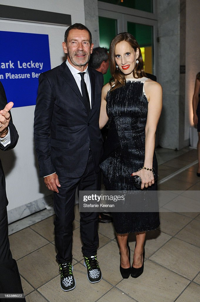 Tomas Maier and Liz Goldwyn attend Hammer Museum 11th Annual Gala In The Garden With Generous Support From Bottega Veneta, October 5, 2013, Los Angeles, CA at Hammer Museum on October 5, 2013 in Westwood, California.