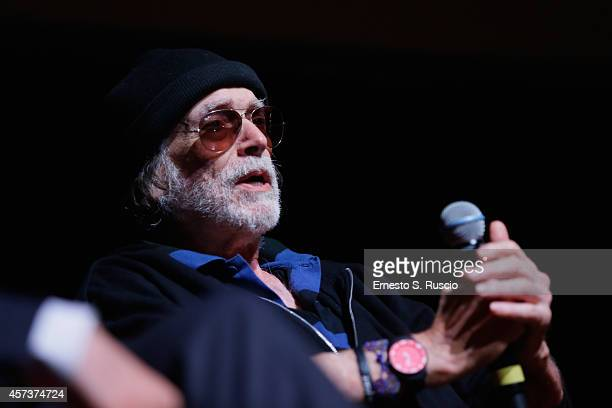 Tomas Milian Meets The Audience during the 9th Rome Film Festival on October 17 2014 in Rome Italy