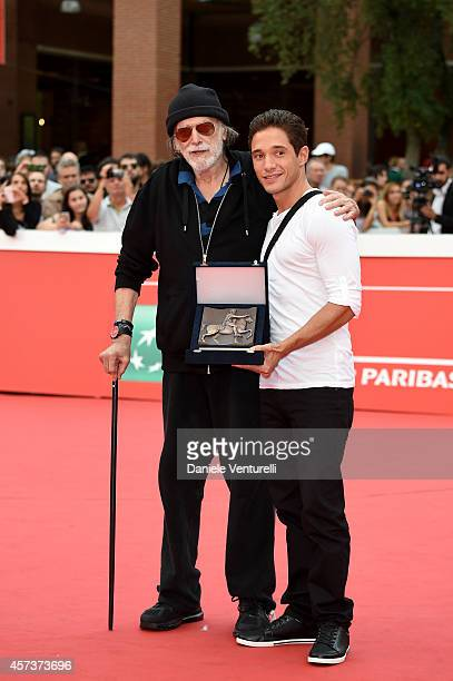 Tomas Milian On The Red Carpet during the 9th Rome Film Festival on October 17 2014 in Rome Italy