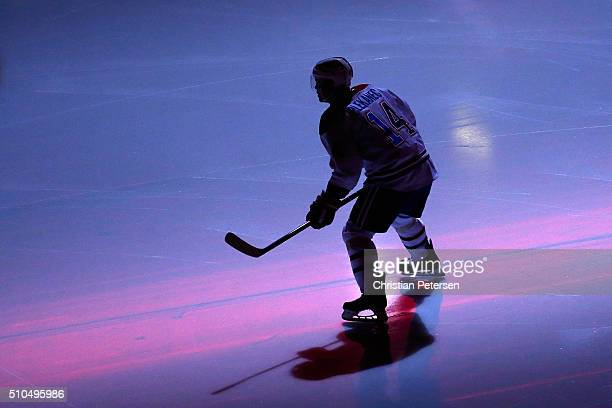 Tomas Plekanec of the Montreal Canadiens skates on the ice prior to the start of the NHL game against the Arizona Coyotes at Gila River Arena on...