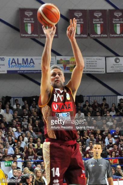 Tomas Ress of Umana in action during the LBA LegaBasket of Serie A match between Reyer Umana Venezia and Auxilium Fiat Torino at Palasport Taliercio...