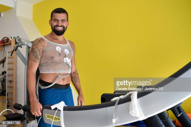 Tomas Rincon attends Juventus medical tests on July 8 2017 in Torino Italy