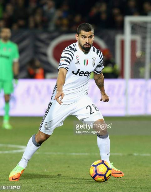 Tomas Rincon of Juventus during the Serie A match between FC Crotone and Juventus FC at Stadio Comunale Ezio Scida on February 8 2017 in Crotone Italy