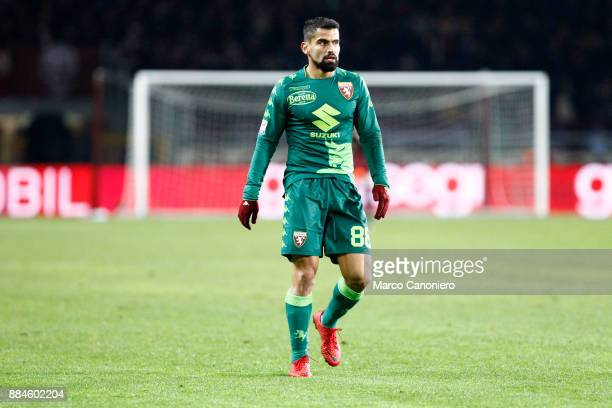 Tomas Rincon of Torino FC during the Serie A football match between Torino Fc and Atalanta Bergamasca Calcio Players of Torino Fc wear a special...