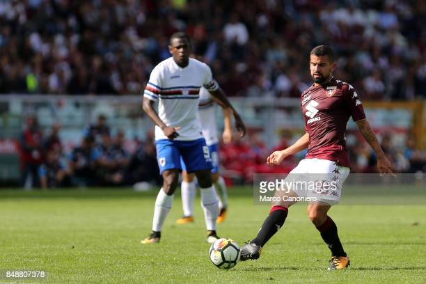 Tomas Rincon of Torino FC in action during the Serie A football match between Torino Fc and Uc Sampdoria