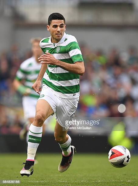 Tomas Rogic of Celtic during the International Champions Cup series match between Barcelona and Celtic at Aviva Stadium on July 30 2016 in Dublin...
