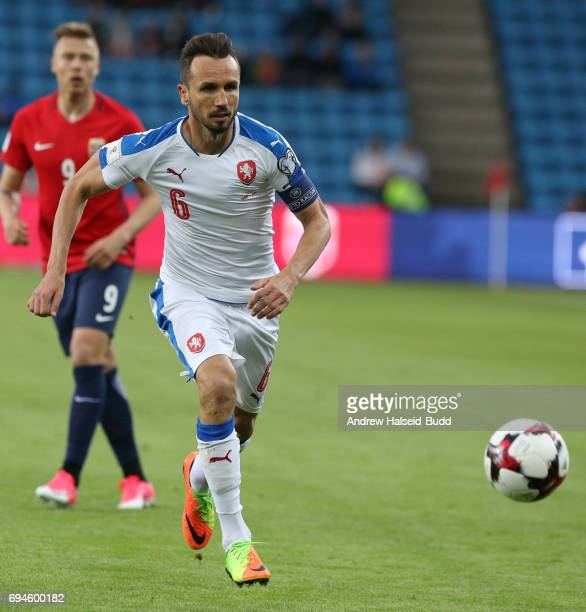 Tomas Sivok of Czech Republic during the FIFA 2018 World Cup Qualifier between Norway and Czech Republic at Ullevaal Stadion on June 10 2017 in Oslo...