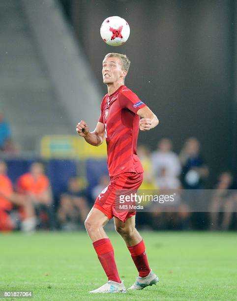 Tomas Soucek during the UEFA European Under21 match between Czech Republic and Denmark at Arena Tychy on June 24 2017 in Tychy Poland