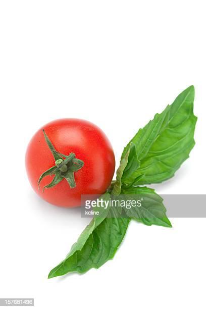 & à la tomate et au basilic