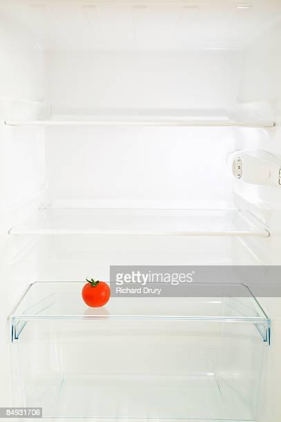 Tomato in fridge