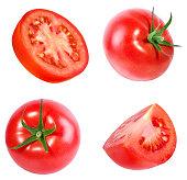 tomato isolated on white background