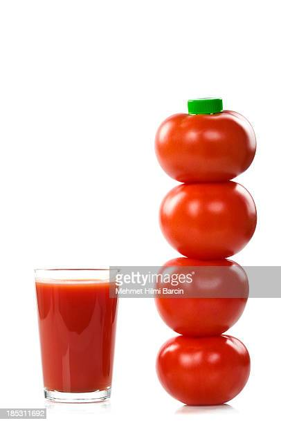 Bottiglia di succo di pomodoro