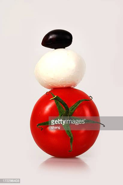 Pomodoro, mozzarella e kalamata
