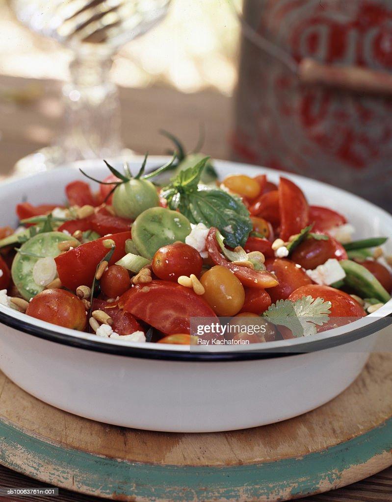 Tomato salad : Stock Photo