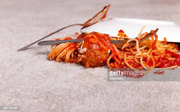 Tomato Sauce Stains on the Carpet