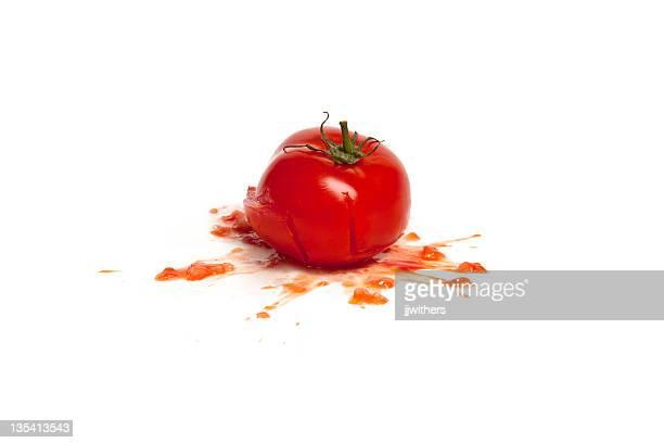 tomato smashed
