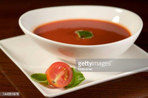 tomato soup : Stock Photo