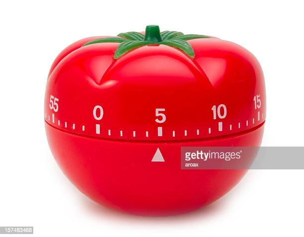 Temporizador de tomate reloj