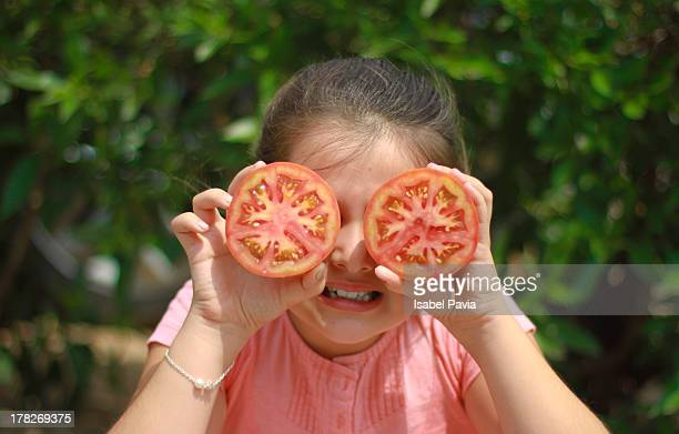 Tomatoes face