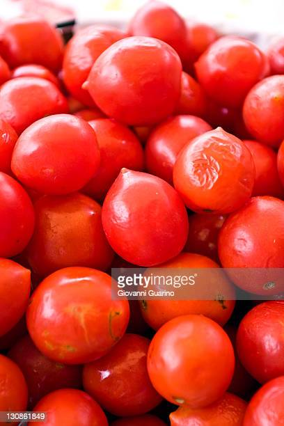 Tomatoes Pachino, small cherry red tomatoes from the South of Italy, Italy, Europe