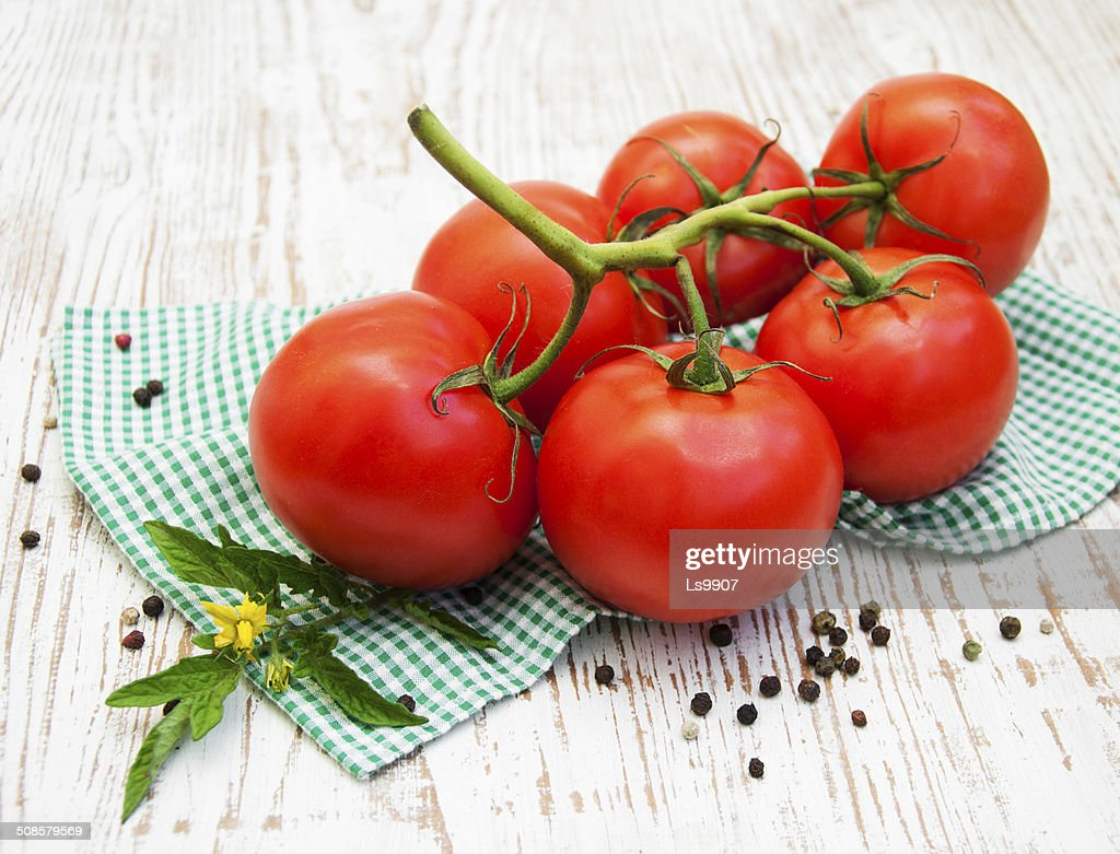 Tomatoes : Stock Photo
