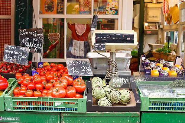 Tomatos at the Vienna Naschmarkt