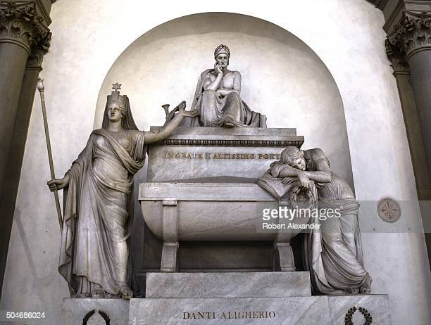 A tomb designed to hold the remains of Dante Alighieri is in the Basilica of Santa Croce in Florence Italy The tomb however is empty Dante's remains...