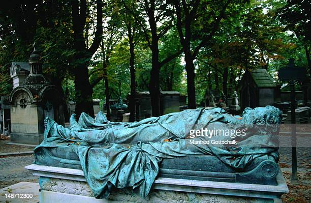 Tomb in Pere Lachaise Cemetery.