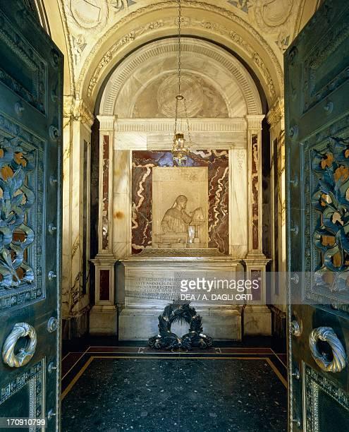 Tomb of Dante Alighieri Basilica of Saint Francis Ravenna EmiliaRomagna Italy