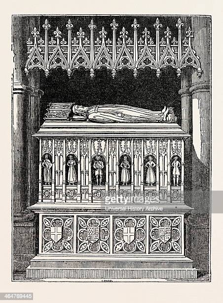 Tomb Of Edward Ii In Gloucester Cathedral Uk Britain British Europe United Kingdom Great Britain European