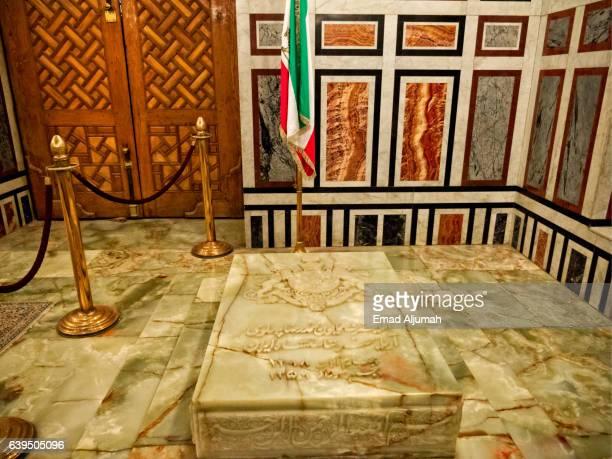 Tomb of Mohammad Reza Pahlavi the last Shah of Iran at Al Rifai Mosque in Cairo, Egypt