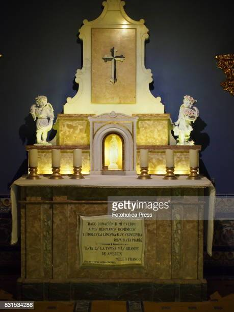 Tomb of Saint Rose of Lima at Monastery of Santo Domingo