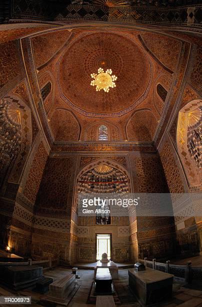 Tomb of Tamerlane in Uzbekistan
