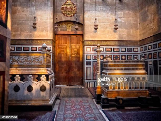 Tombs of members of Egypt's royal family at Al Rifai Mosque in Cairo, Egypt