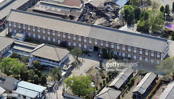 Tomioka Japan The east cocoon warehouse of the Tomioka Silk Mill in Tomioka Gunma Prefecture is photographed on April 25 2013 An advisory panel to...