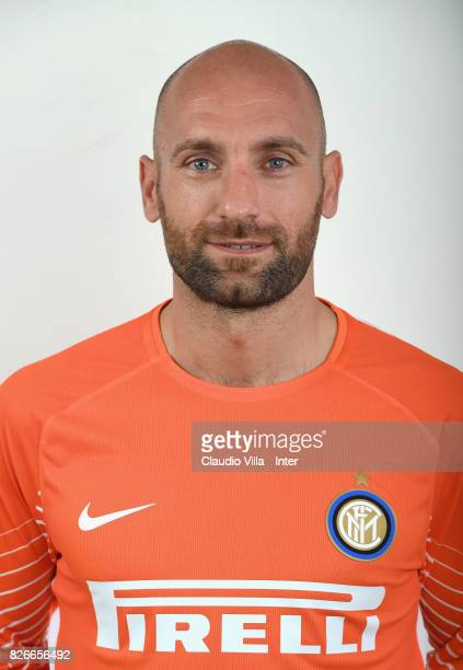 Tommaso Berni of FC Internazionale poses on July 8 2017 in Reischach near Bruneck Italy