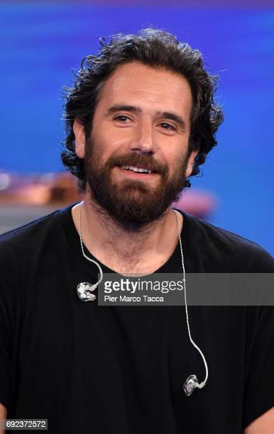 Tommaso Paradiso attends 'Che Tempo Che Fa' TV show on June 4 2017 in Milan Italy