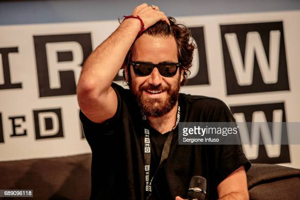 Tommaso Paradiso attends Wired Next Fest 2017 at Giardini Indro Montanelli on May 27 2017 in Milan Italy