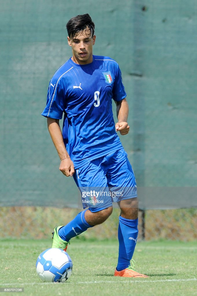 Tommaso Taviani of Italy during the frienldy match between Italy University and ASD Audace on August 12, 2017 in Rome, Italy.