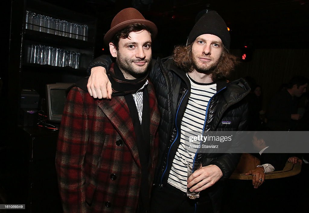 Tommy Agriodimas and Julian Ungano attend the Charlotte Ronson Fall/Winter 2013 - After Party at 1 Oak on February 8, 2013 in New York City.