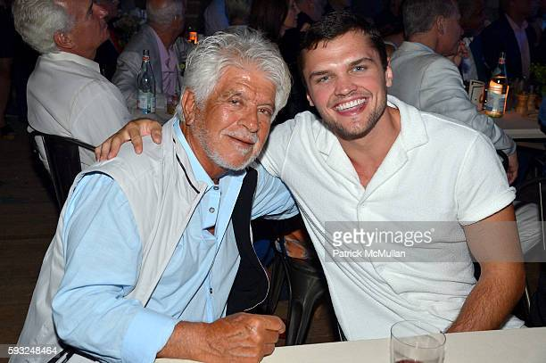 Tommy Baratta Ray Nicholson attend the Apollo in the Hamptons 2016 party at The Creeks on August 20 2016 in East Hampton New York