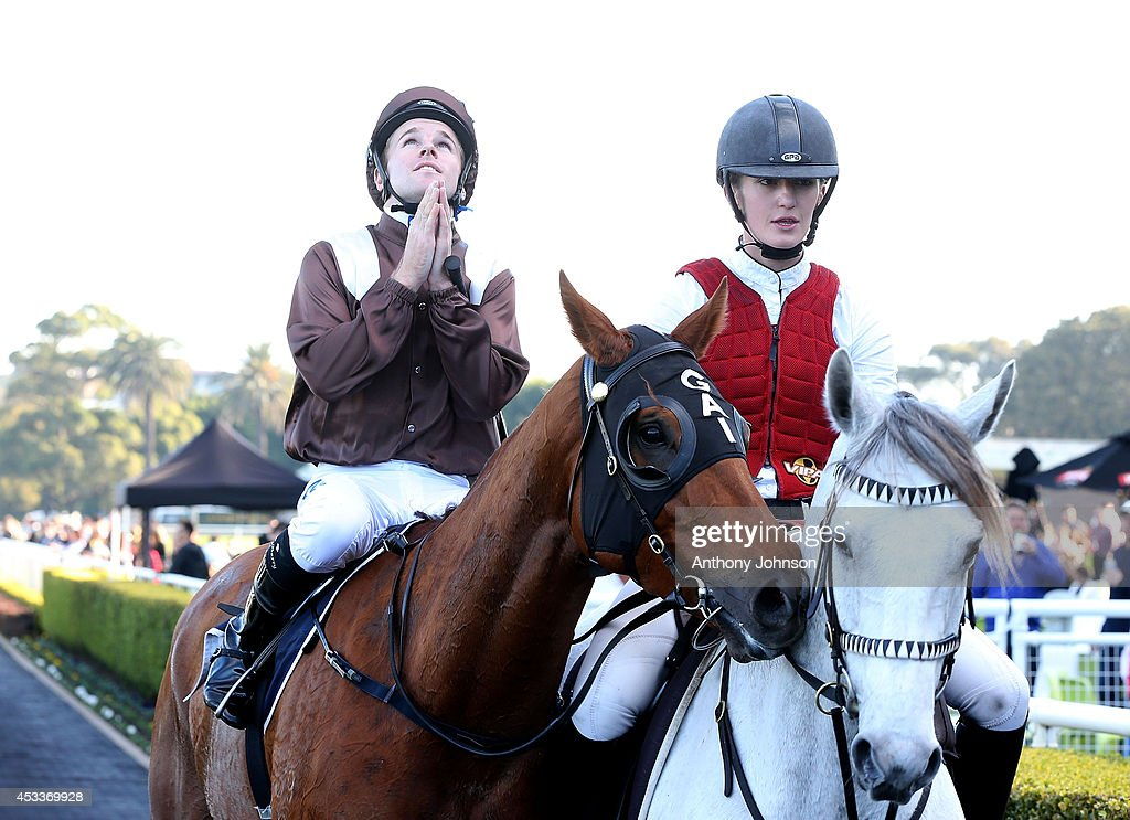 <a gi-track='captionPersonalityLinkClicked' href=/galleries/search?phrase=Tommy+Berry&family=editorial&specificpeople=8561993 ng-click='$event.stopPropagation()'>Tommy Berry</a> rides Sweet Idea during Sydney Racing at Royal Randwick Racecourse on August 9, 2014 in Sydney, Australia.