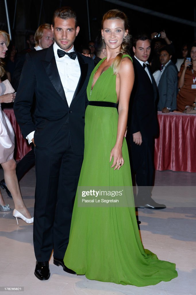 Tommy Chiabra and Fiammetta Cicogna attend the Opening Ceremony And 'Gravity' Premiere during the 70th Venice International Film Festival at the Palazzo del Cinema on August 28, 2013 in Venice, Italy.