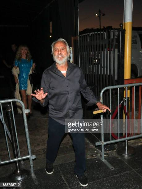 Tommy Chong is seen on August 16 2017 in Los Angeles California